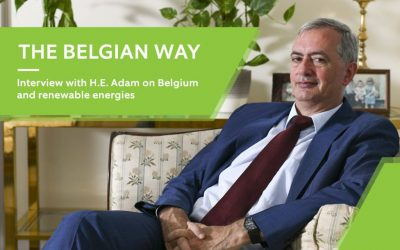 Interview with H.E. Adam on Belgium and renewable energies