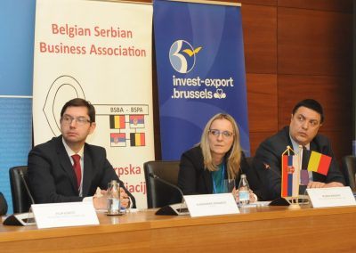 Presentation Of the Business Opportunities for Belgian Companies in Serbia / 21.02.2019