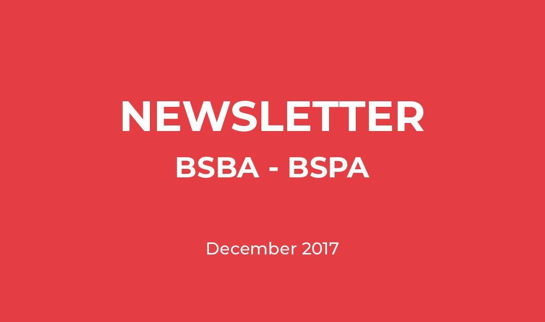 Newsletter – December 2017