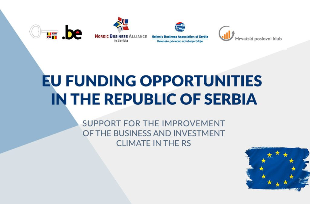 "Event: ""EU Funding opportunities in the Republic of Serbia"", presented by Yngve Engström"