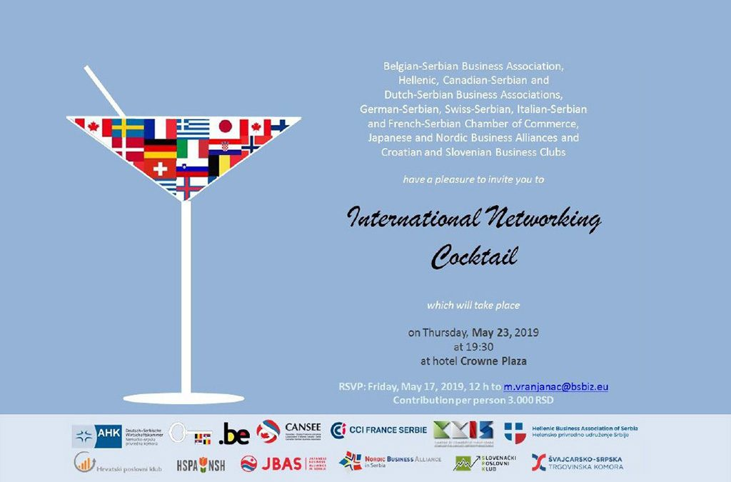 International networking cocktail