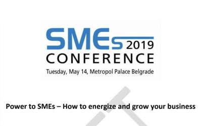 """SMEs conference 2019 """"Power to SMEs – How to energize and grow your business"""" report"""