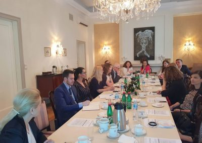 BSBA member meeting on the New Law on Lobbying in Serbia