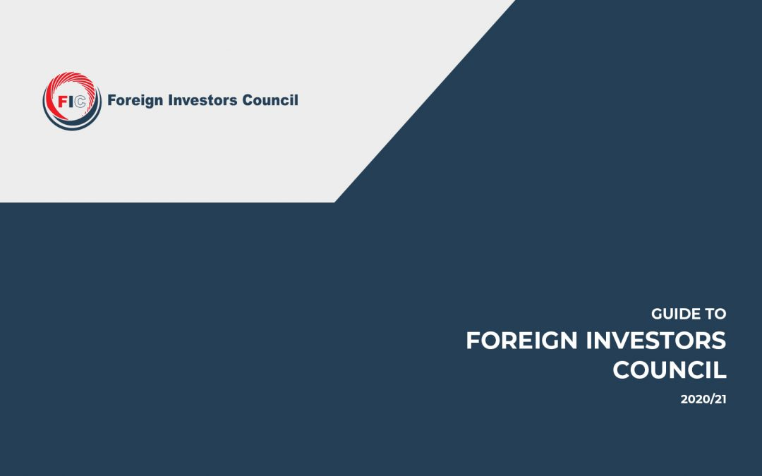 Guide to Foreign Investors Council 2020 / Vodić Savet stranih investitora 2020