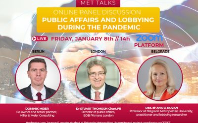 """""""Lobbying and Public Affairs in the Pandemic"""" Online Panel"""