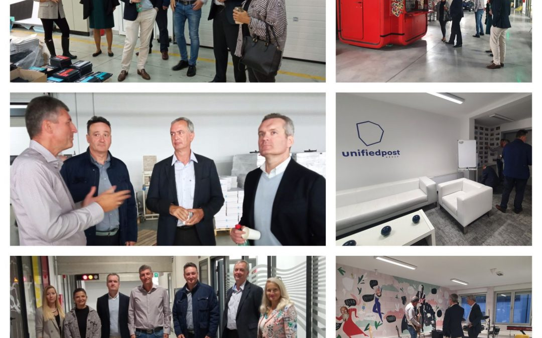Visit to BSBA member-company Unifiedpost